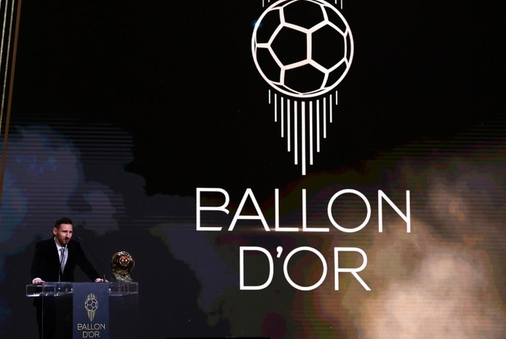 Os nomeados ao Prêmio Bola de Ouro 2021. AFP
