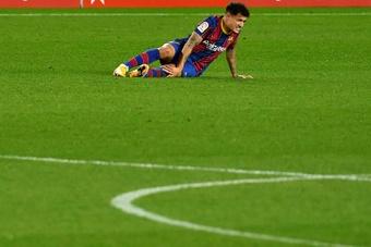 Le Barça a des dettes de transferts. AFP