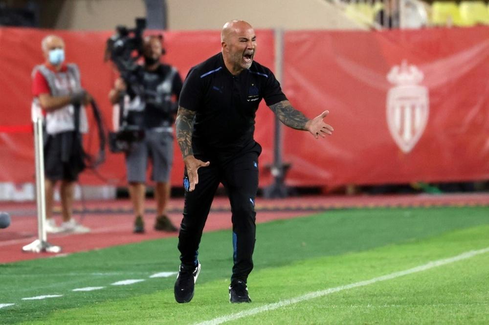 Sampaoli frustré par le résultat contre le Lokomotiv. AFP