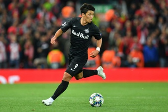 Hwang Hee-Chan s'est rapidement fait une place à Wolverhampton. AFP
