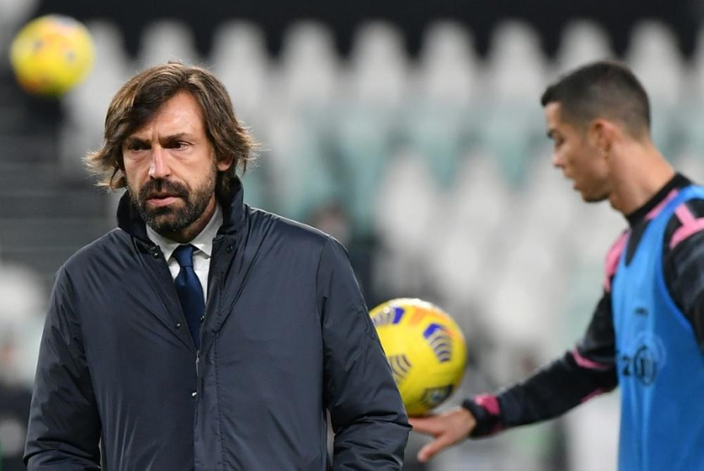 Pirlo, vinculado al Barça, sin ofertas sobre la mesa. AFP