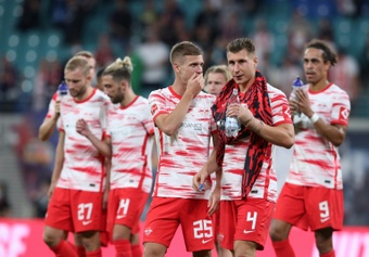 El RB Leipzig se estrella ante el quinto de Polonia. AFP/Archivo