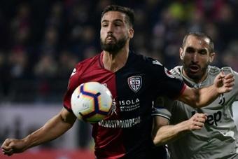 Le formazioni ufficiali di Cagliari-Roma. AFP