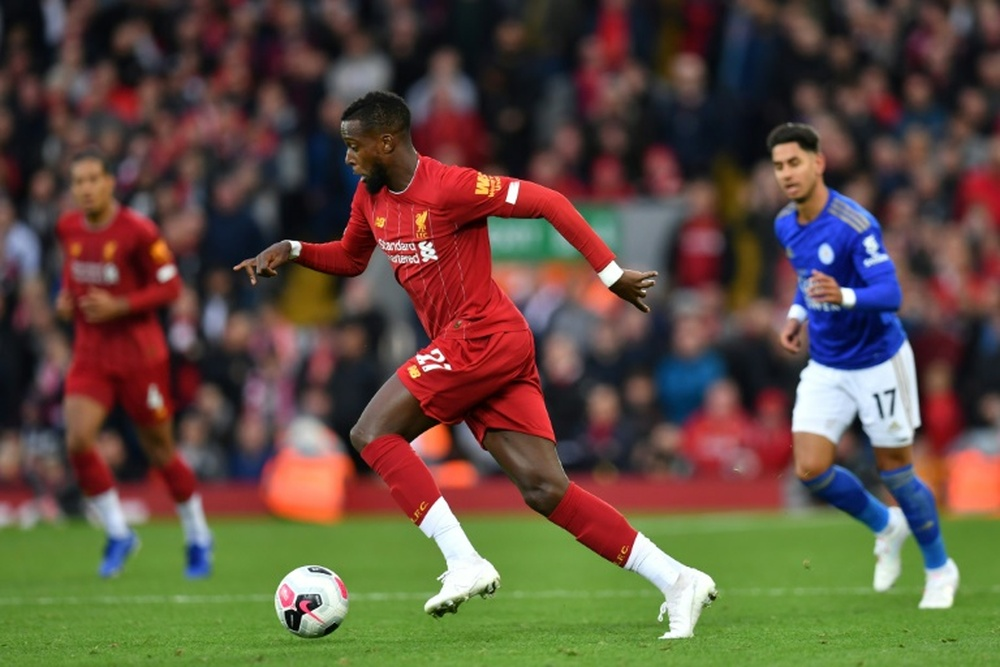 Liverpool are waiting for offers for Origi. AFP