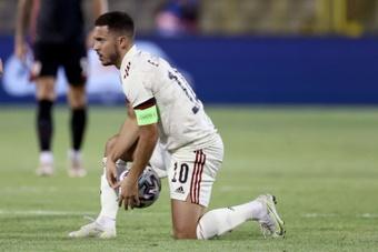 Hazard sufre una sobrecarga en la pierna. AFP