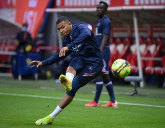 Thierry Henry étale son souhait pour Mbappé. afp