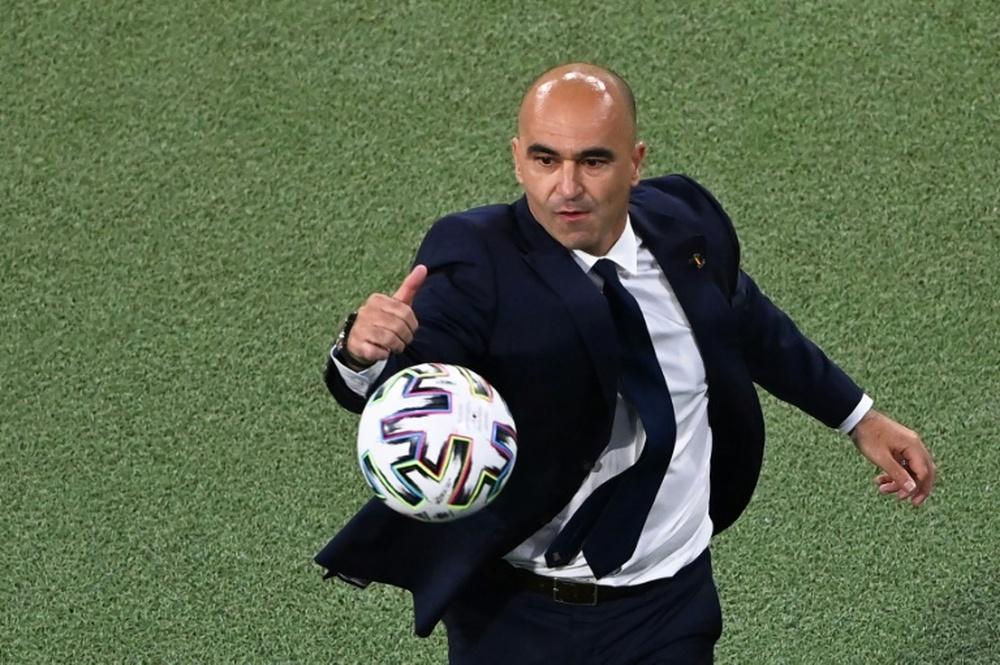Roberto Martínez cai da lista de possíveis sucessores de Koeman.AFP
