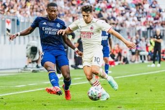 Alaba évoque les comparaisons avec Sergio Ramos. AFP
