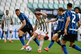 Compos probables : Inter-Juventus. AFP