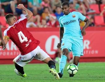 Marlon jugó en el Barça. AFP