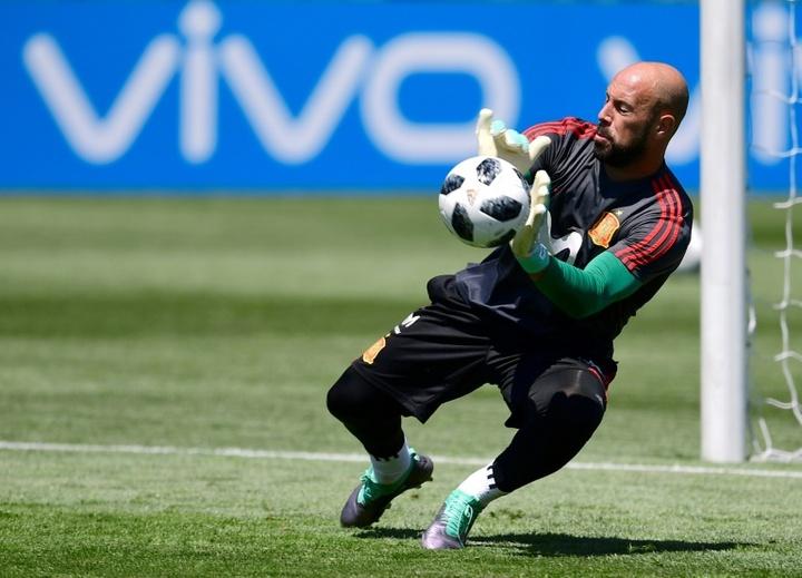 Pepe Reina élu meilleur gardien de la Serie A 2020-2021. afp