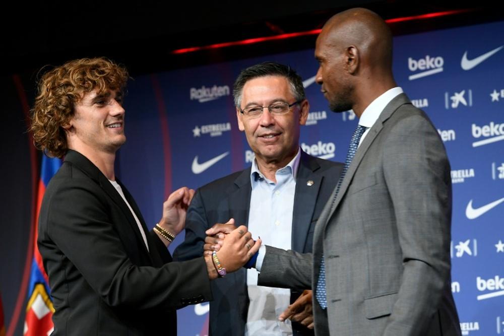Os polêmicos bônus de Bartomeu aos jogadores. AFP
