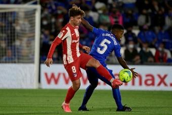 Griezmann volvió al Atlético de Madrid. AFP