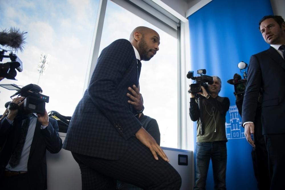 Henry habló sobre Leo Messi. AFP