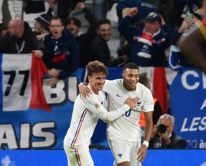 Griezmann volta ao Atlético de Madrid com um novo título. AFP