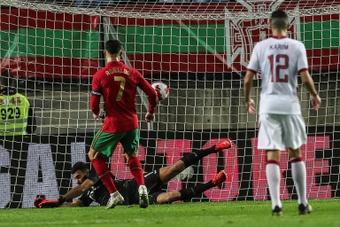 Portugal arrasa a la anfitriona del Mundial sin sudar. AFP