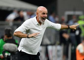 El Milan quiere renovar a Pioli. AFP