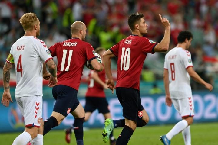 Schick rattrape Ronaldo et Baros, mais ne les dépasse pas. AFP