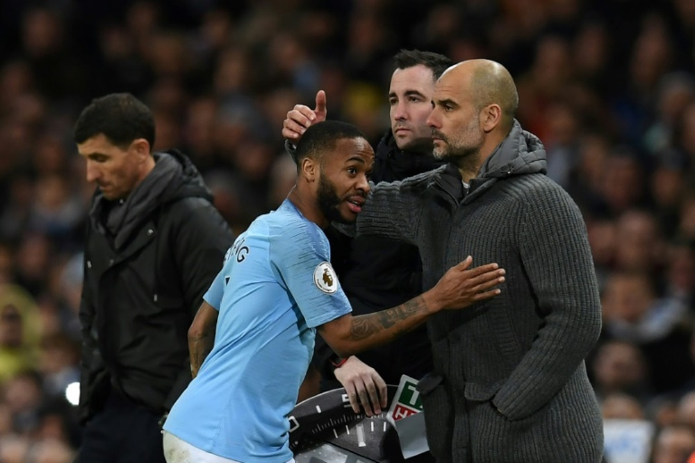 Sterling wants to be a key player if he is to renew. AFP