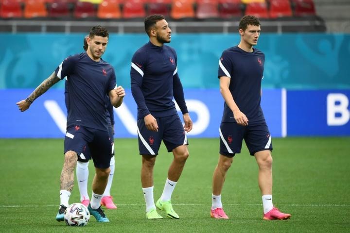 Cinq joueurs de l'équipe de France sont sous le coup d'une suspension. AFP