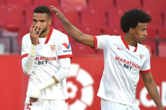 Avec Koundé, mais sans En-Nesyri face à Lille. AFP