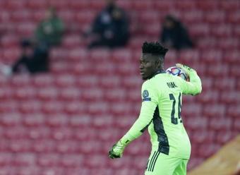 Onana is set to leave Ajax. AFP