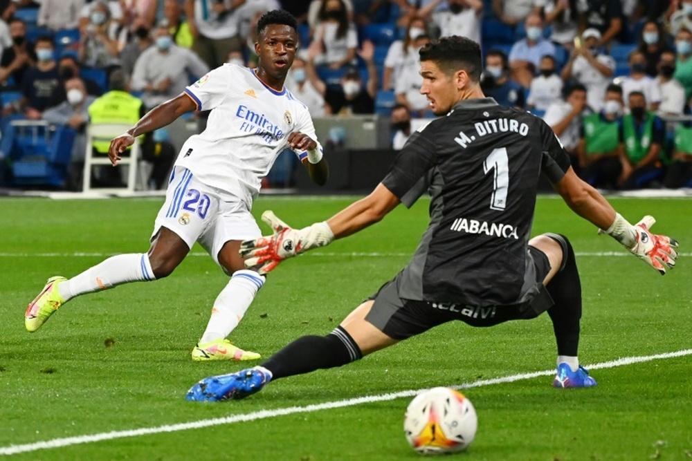 Vinicius veut prolonger. AFP