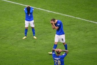 La Spagna rompe il record di imbattibilità degli azzurri. AFP