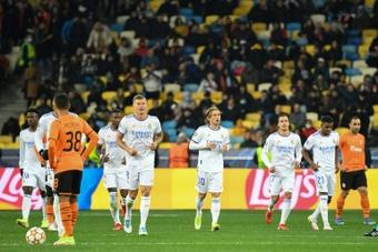 El Madrid necesitaba vencer sí o sí al Shakhtar y lo logró. AFP
