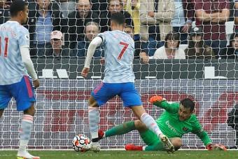 Cristiano, Varane e Sancho elevam consideravelmente a folha salarial do United. AFP