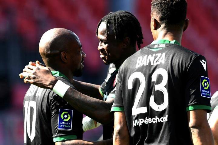 El Lens se da un festín con la vista puesta en la Ligue 1. AFP/Archivo