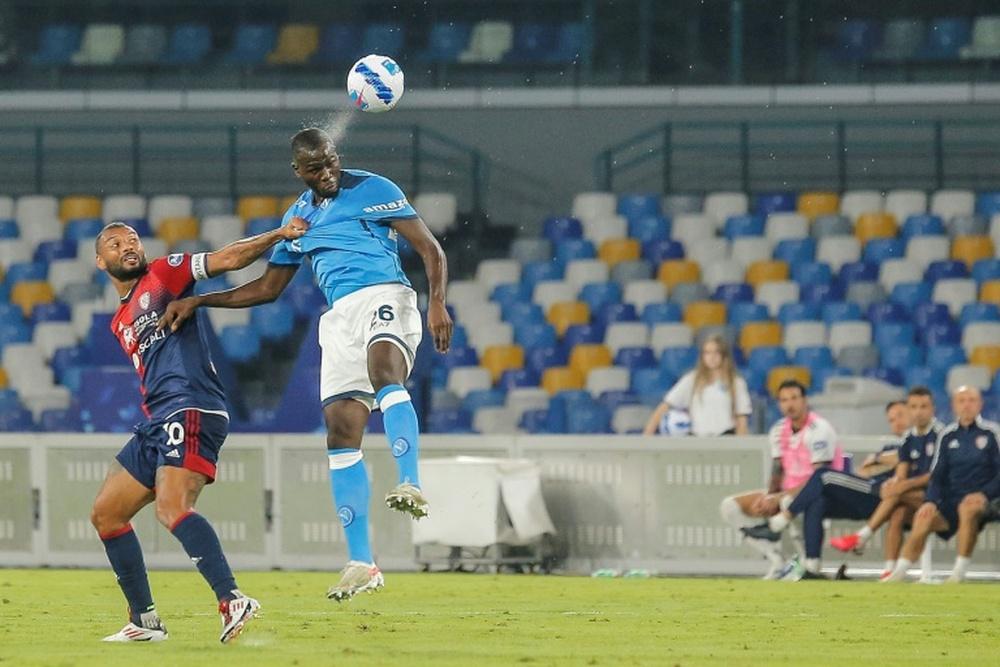 Ultim'ora del calcio italiano in data 4 ottobre 2021. AFP