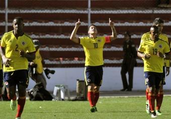 James Rodríguez ha mostrado su mejor versión en estos dos partidos con Colombia. AFP