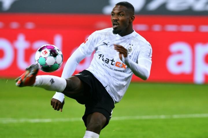 El Inter se fija en Marcos Thuram como complemento de Dzeko. AFP