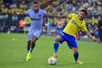 Barça empata com Cádiz e complica a situação de Koeman. AFP