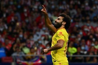 Salah's contract expires in 2023. AFP