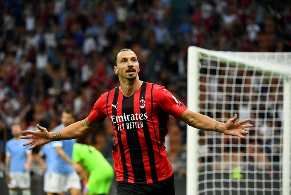 Ultim'ora del calcio italiano in data 14 ottobre 2021. AFP