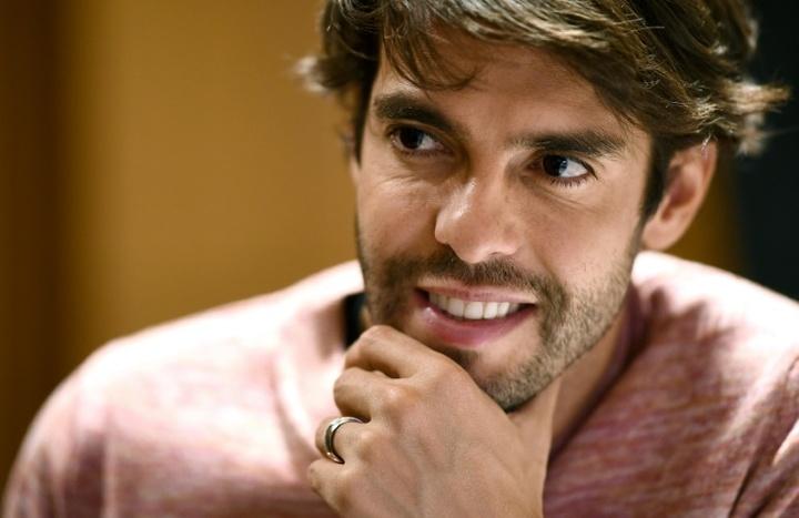 Kaká reconoció el interés del Manchester City en él. AFP
