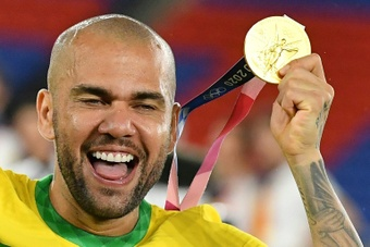 Dani Alves tout proche de Fluminense. afp