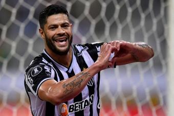 Hulk n'a plus rejoué pour le Brésil depuis 2016. AFP