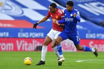 Wesley Fofana tiene contrato con el Leicester hasta 2025. AFP