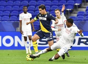 Compos probables : Lyon-Monaco. AFP