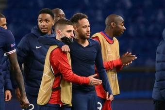Neymar compare Verratti à Xavi et Iniesta. AFP