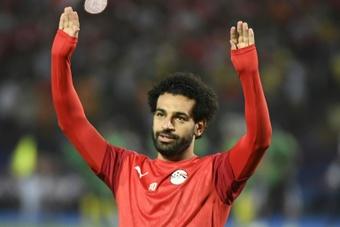Egipto avanzó a la Copa África. AFP