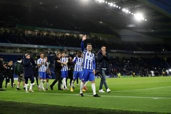 Un jugador del Brighton, detenido por presunta agresión sexual. AFP