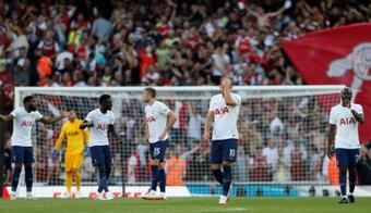 El Tottenham informó de dos positivos, pero no dio nombres. AFP