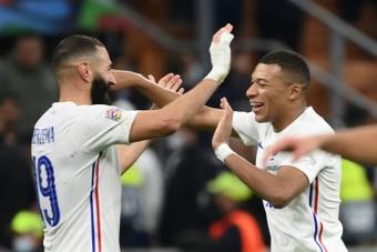 Francia ya está entre los tres primeros del mundo. AFP