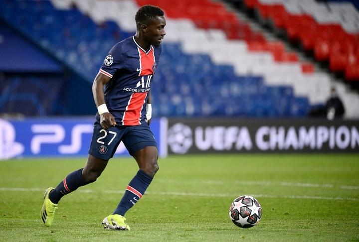 Gueye est forfait pour le trophée des Champions. AFP