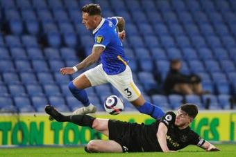 Wilshere aconselhou Rice a ficar no West Ham.AFP