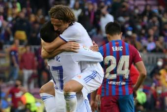 Modric es historia viva del Real Madrid. AFP